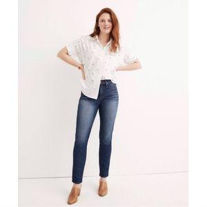 Madewell Mid Rise Slim Straight Jean Size 23